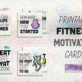 10 Printable Fitness Motivation Cards to Inspire You