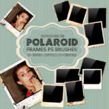 20+ Free-to-Download Polaroid Photo Frames Brushes