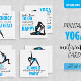 10 Printable Yoga Motivation Cards to Keep You Inspired