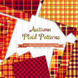 20 Free Red Plaid Patterns for Autumn Designs