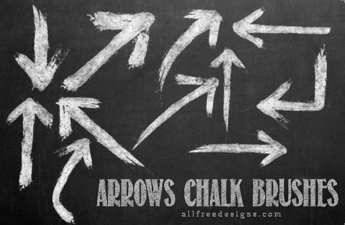 sketched arrow brushes