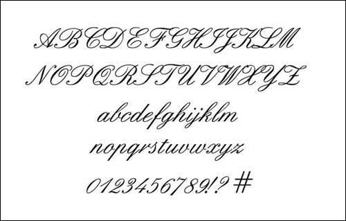 Stylish english fonts for pc new photo