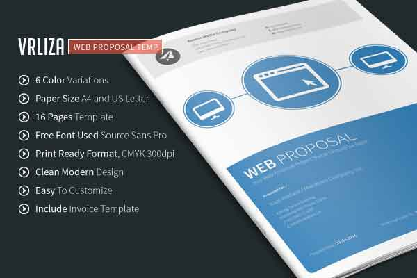 Project proposal templates for freelancers and tech professionals project proposal templates maxwellsz