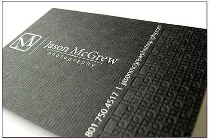 Elegant business cards 25 design examples for inspiration elegant business cards reheart Choice Image