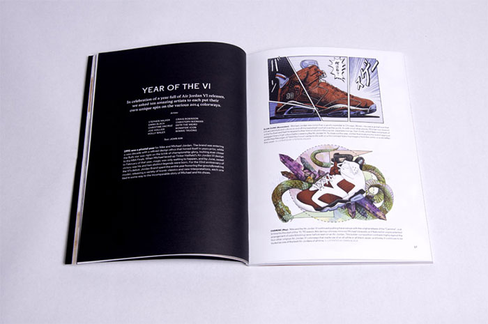 Art Magazine Layout Design