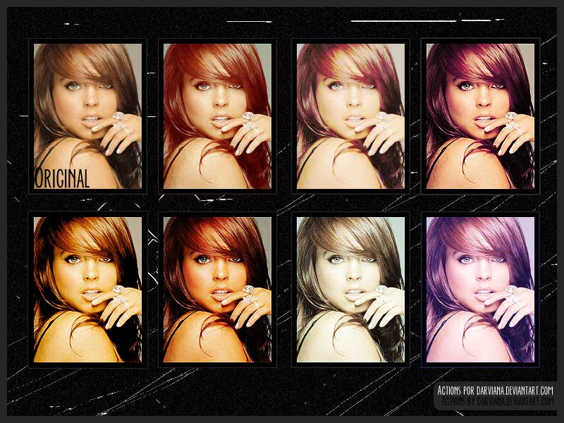 Free Photoshop Action Files for Photo Retouching