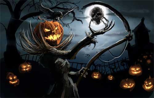 Halloween Wallpapers: 30 Spooky Backgrounds For Your Desktop