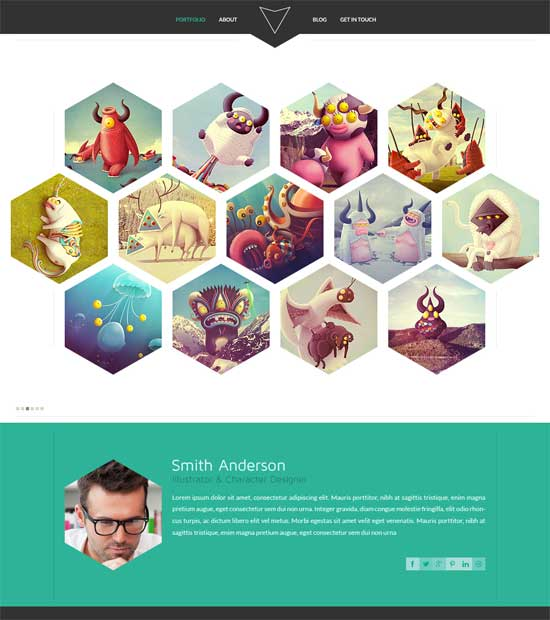 PSD Website Templates: 25 Nice Designs To Download Free
