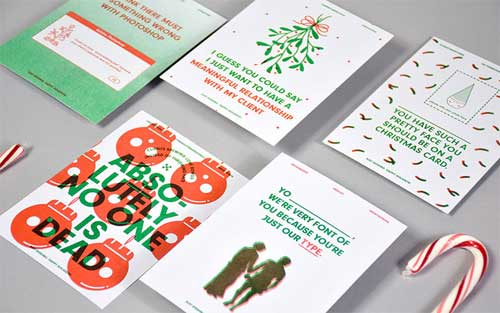 Business christmas cards 15 great examples business christmas cards 4 reheart Choice Image