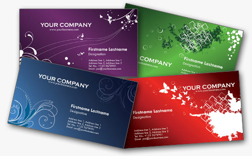 Free business card templates in photoshop format colorful personal free business cards cheaphphosting Gallery