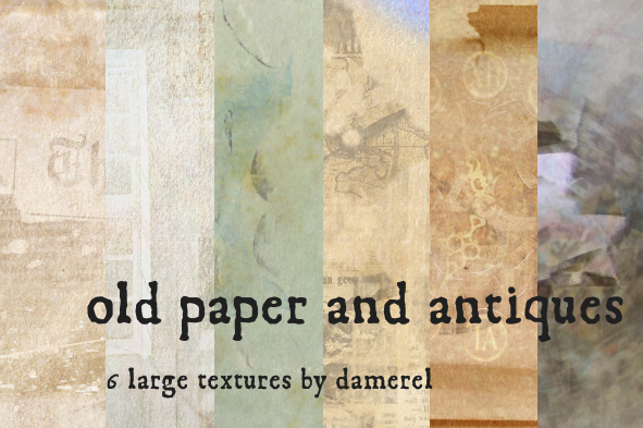 Paper Texture Backgrounds and Photoshop Brushes