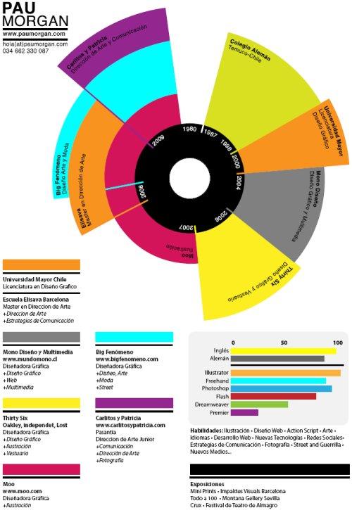 infographic resume  35 creative examples