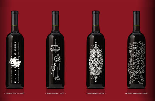Wine Christmas Packaging.Christmas Packaging Design Ideas For The Holidays