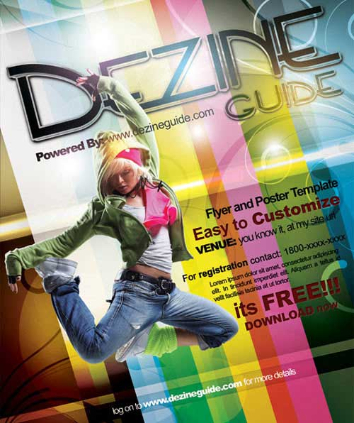 flyer design 15 templates in psd eps to use for free