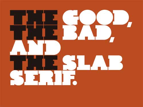 Slab Serif Fonts: 30 Free Types to Download and Use for