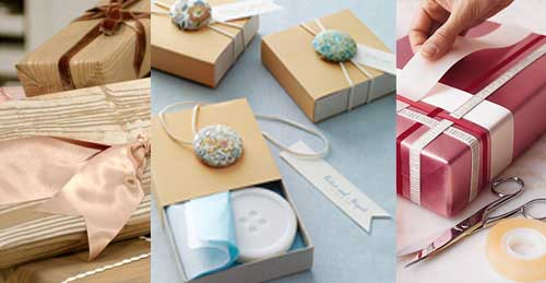 Christmas gift wrapping ideas diy