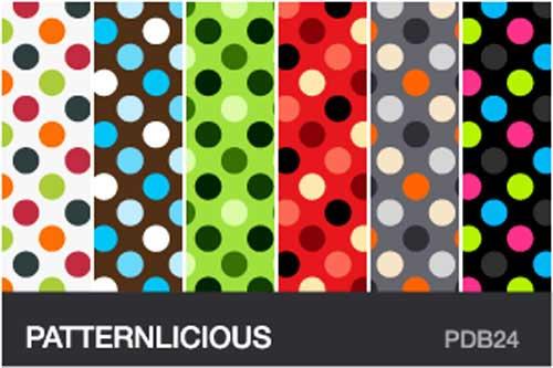 Polka Dot Background Patterns: 250+ Free Designs