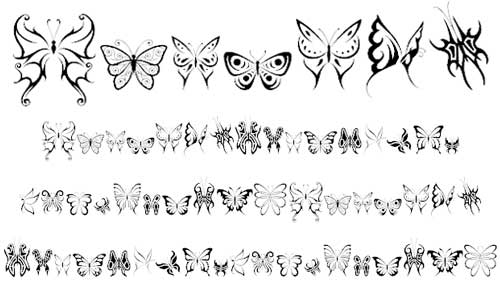 Free Tattoo Fonts With Tribal Designs to Boost Your Font ...