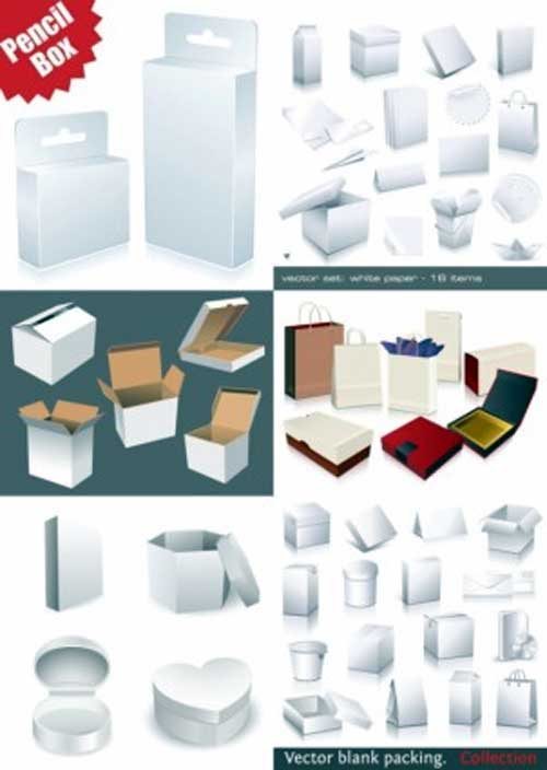 Packaging Template Designs: 30 Free Vector Files to Collect Now