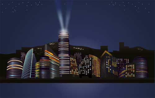City Background Designs In Vector Format That You Can Use For Free