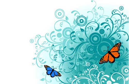 Butterfly Clip Art 56 Vector Graphics For Nature And Spring Designs