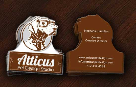 Die cut business card 55 custom shaped designs die cut business card colourmoves