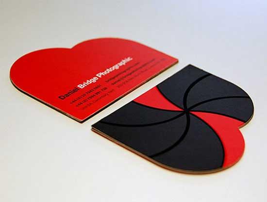 Die cut business card 55 custom shaped designs die cut business card friedricerecipe Images