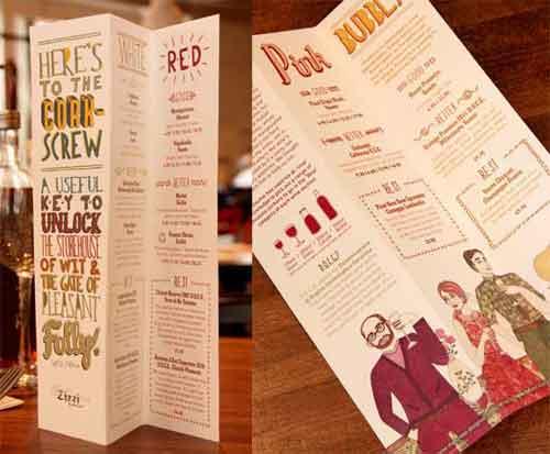 restaurant menu design 33 creative examples for inspiration