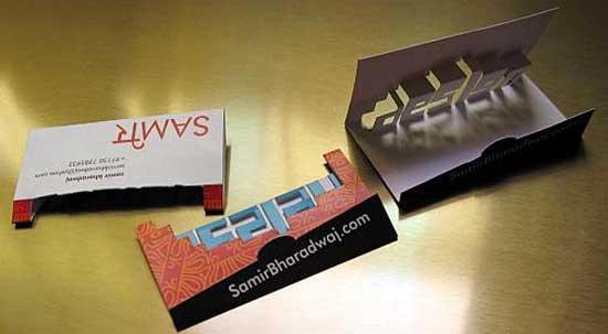 Pop up business cards 38 unique examples pop up business cards colourmoves