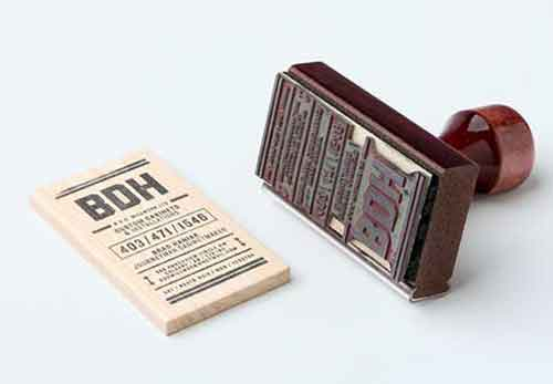 Wooden Business Card 38 Design Examples To Get Inspiration From
