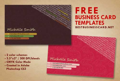 Business card template psd 22 free editable files business card template psd reheart Gallery
