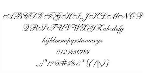 Wedding Font: 13 Elegant and Romantic Types to Download Free