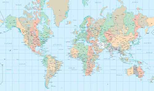 Vector world map files for free download vector world map gumiabroncs Gallery