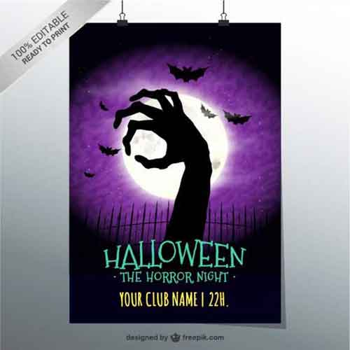 halloween poster templates - Free Poster Templates