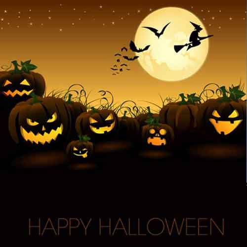 Halloween Poster Templates 25 Editable Vector Files To Collect