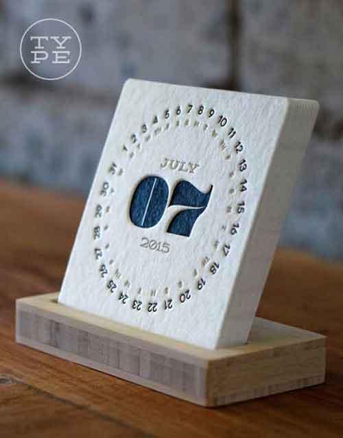 Unique Calendar Designs 16 Examples From 2015