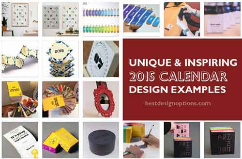 Below We Listed Down 16 Unique Calendar Designs Know More About Each Of Them By Visiting The Source Page Where You Can View Pictures In