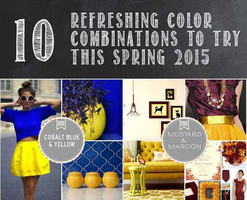 Spring Color Palettes 10 Refereshing Color Combinations