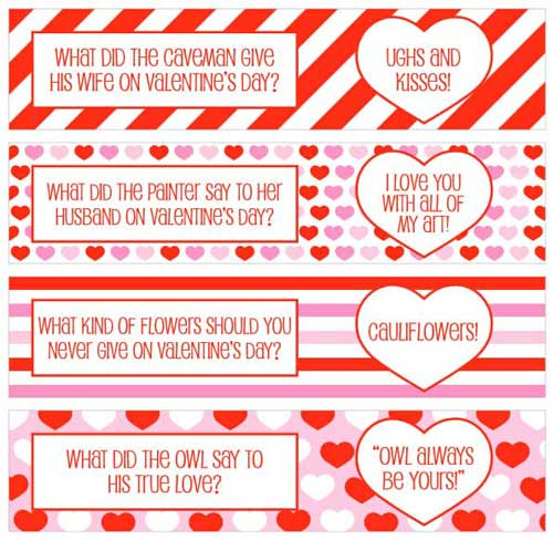 picture relating to Valentine Labels Printable called Valentine Printables for Your Intimate Do-it-yourself Tasks