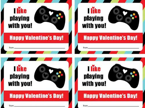 graphic regarding Printable Video referred to as Valentine Printables for Your Intimate Do-it-yourself Assignments
