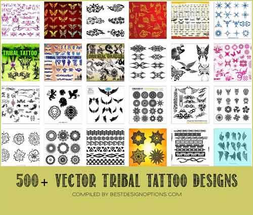 1d33920213d1c Tribal Tattoo Design: 500+ Free Vectors to Download