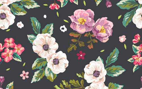 Floral Patterns 40 Repeating Vector Backgrounds Magnificent Floral Patterns