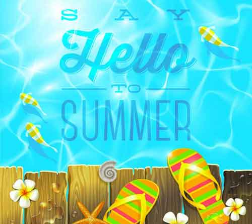 poster template 30 free summer themed designs