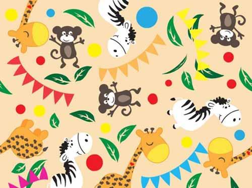 Fondos De Animales Animados: Baby Background Designs: 100+ Cute Seamless Patterns