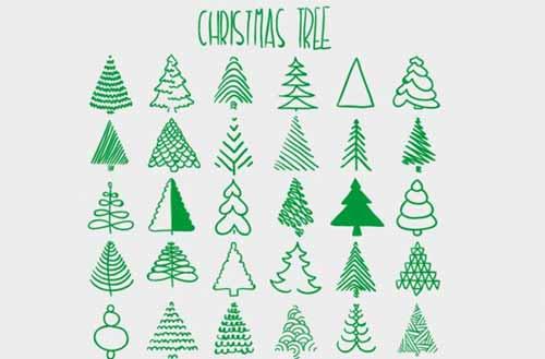 christmas tree clip art - Christmas Tree Art