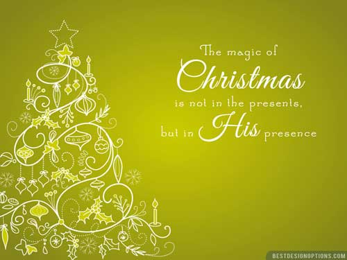 Free Christmas Wallpapers With Inspiring Quotes