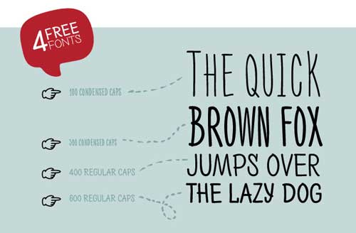 Lettering Font 15 Free Cool Typefaces for Fun Designs