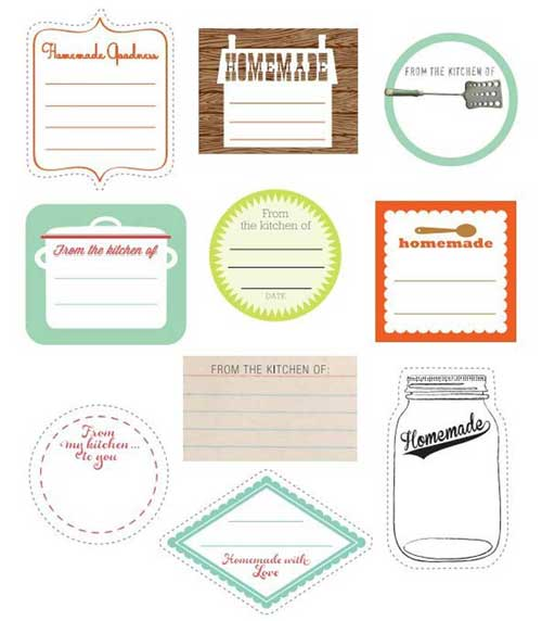 photo about Mason Jar Printable Labels titled Mason Jar Labels: 100+ Cost-free Printable Information in the direction of Obtain