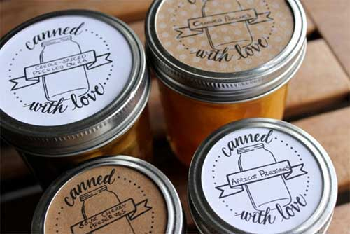 picture about Printable Mason Jar Label identified as Mason Jar Labels: 100+ No cost Printable Information in direction of Obtain