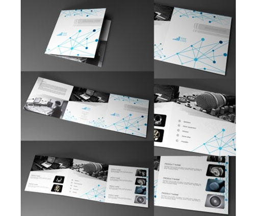 Trifold Brochure Template Free EasytoCustomize Designs - Free indesign tri fold brochure templates
